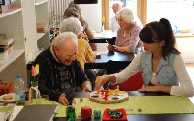 Spiele im Seniorentreff