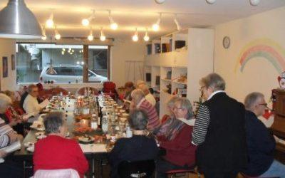 Weihnachtsfeier im Seniorentreff 2015
